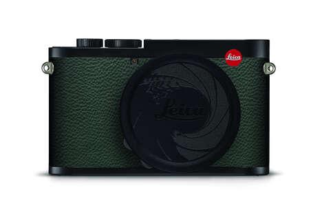 Secret Agent-Inspired Cameras