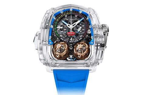 Transparent Sapphire Timepieces
