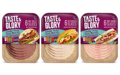 Vegetarian-Friendly Sandwich Slices