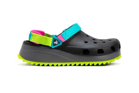 Velcro Strapped Perforated Sandals