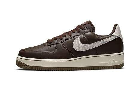 Dark Chocolate Tonal Sneakers
