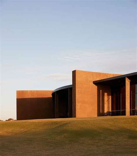 Serene Golf Clubhouses