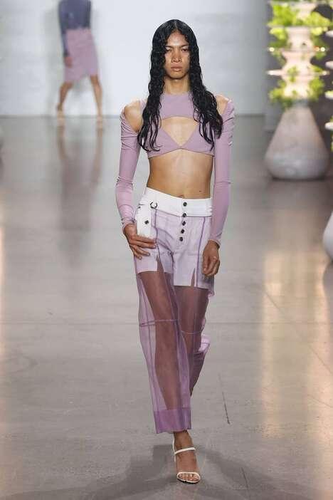 Genderless Fluid Spring Fashion