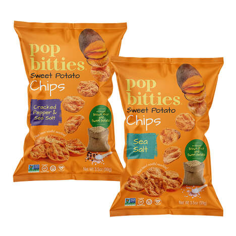 Air-Popped Sweet Potato Chips