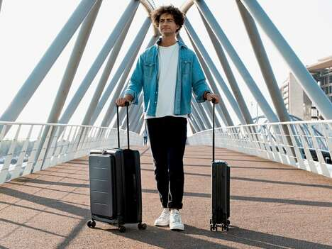 Collapsible Space-Saving Suitcases