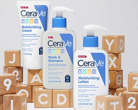 Continuously Nourishing Baby Cosmetics