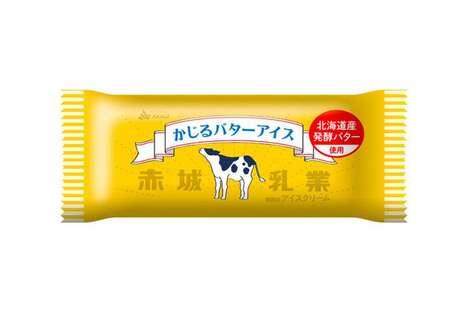 Buttery Ice Cream Bars