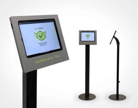 AI-Enabled Mask Detection Kiosks