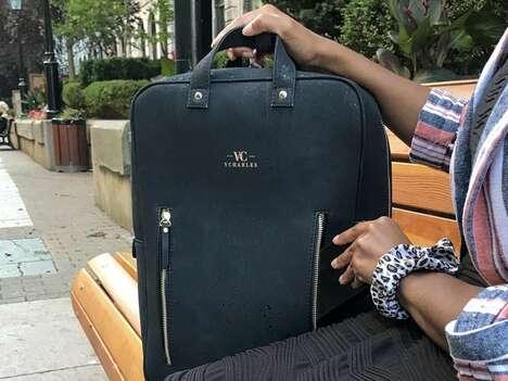 Vegan-Friendly Cork-Made Bags
