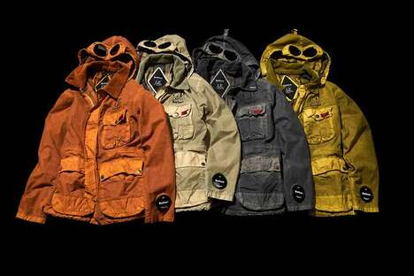Goggle-Incorporate Mid Jackets