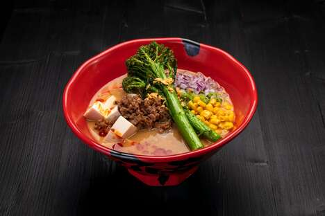 Upscale Plant-Based Dishes