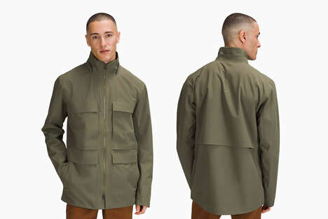 Stretchable Seam-Sealed Jackets