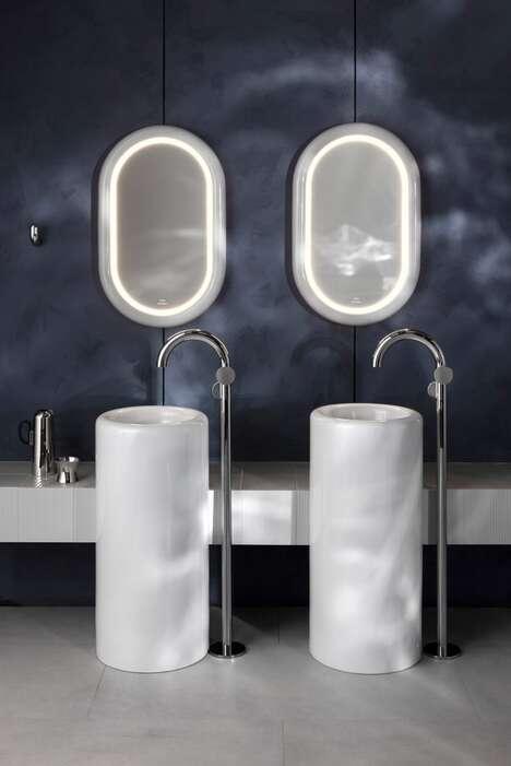 Expressive Minimalist Bathroom Designs