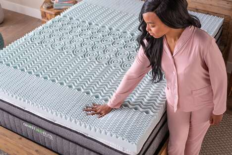 Cooling Memory Foam Toppers
