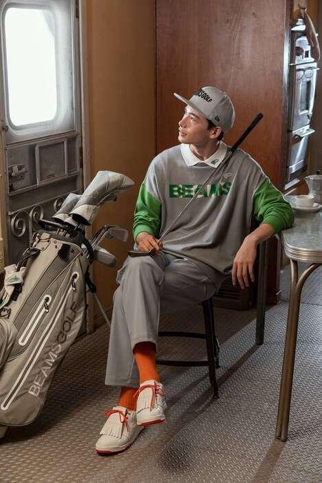 Versatile Lifestyle Golf Ensembles