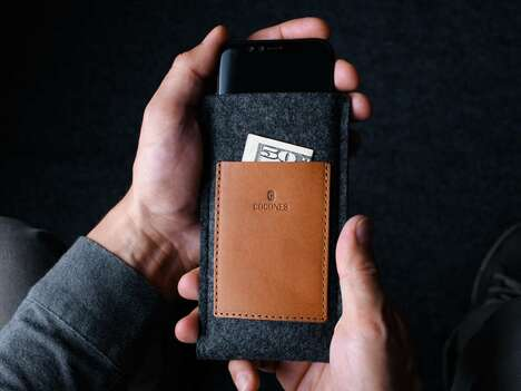 Pocket-Paired Smartphone Sleeves