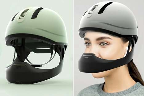 Air-Purifying Bike Helmets