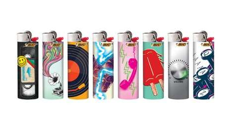 Nostalgic Technology Lighters
