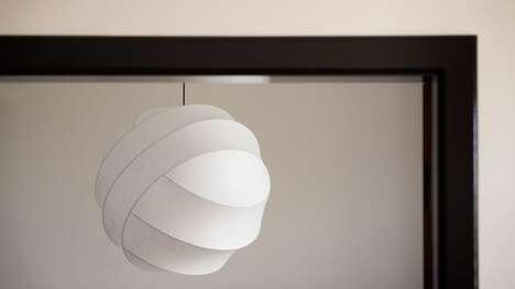 Sculptural Cocoon Pendant Lights