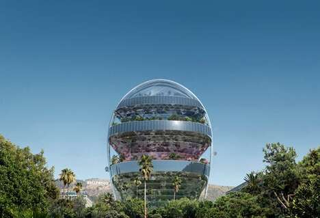 Egg-Shaped Cultural Centers