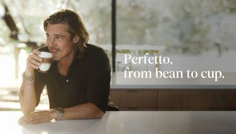 Actor-Starring Coffee Campaigns