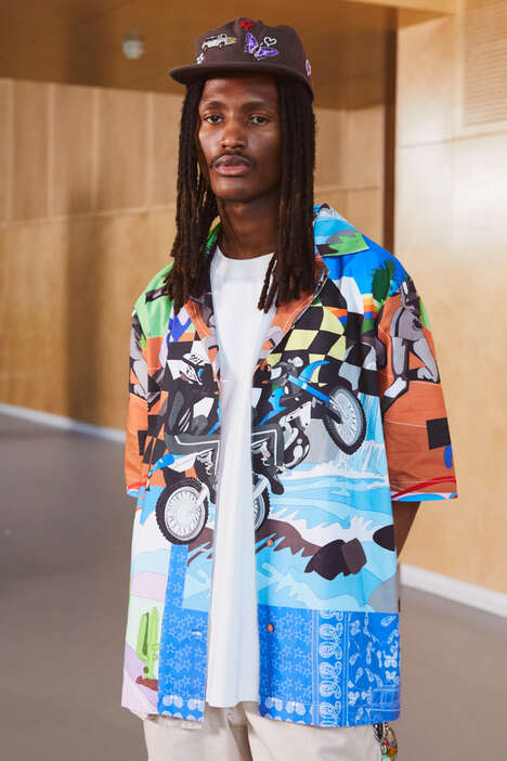 Nostalgia-Drenched Streetwear Collections