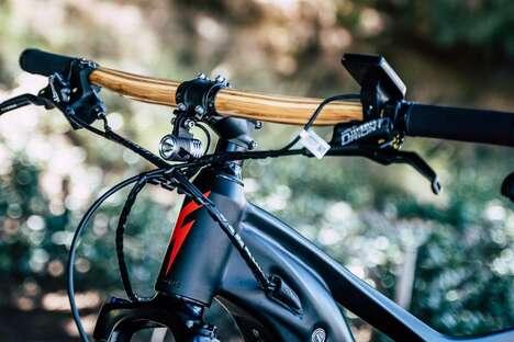 Bamboo-Made Bicycle Handlebars