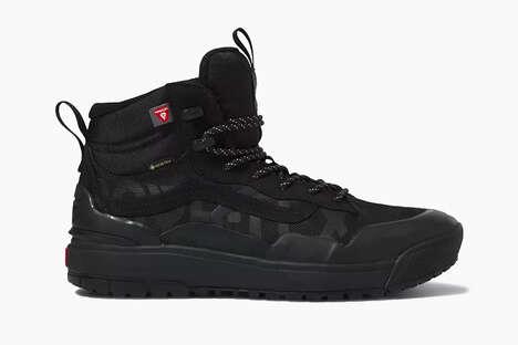 Robust Skate-Branded Hiking Shoes