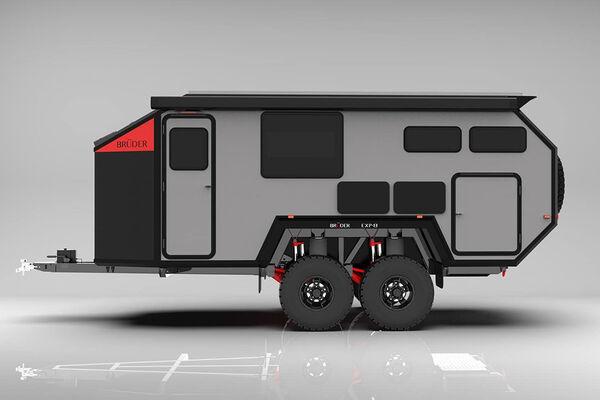 Elegant Off-Grid Camper Trailers
