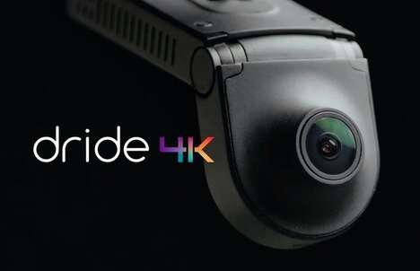 4K Resolution Dash Cams
