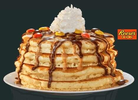 Peanut Candy Pancakes