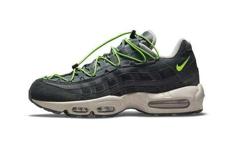 Neon Speed-Lacing Sneakers