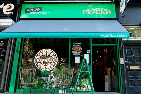 Vegan-Only Pizzerias