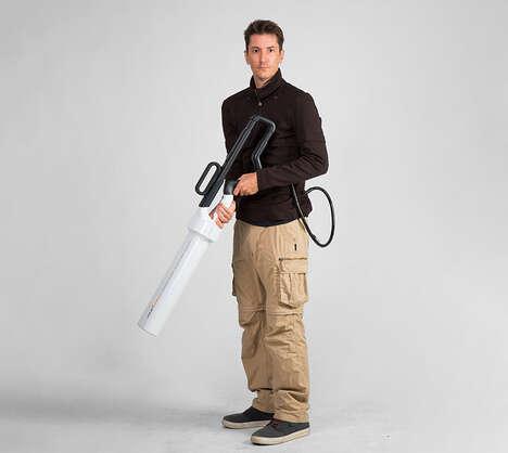Tubular Anti-Drone Weaponry