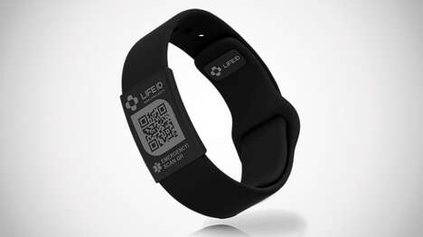 QR Code Health Bracelets