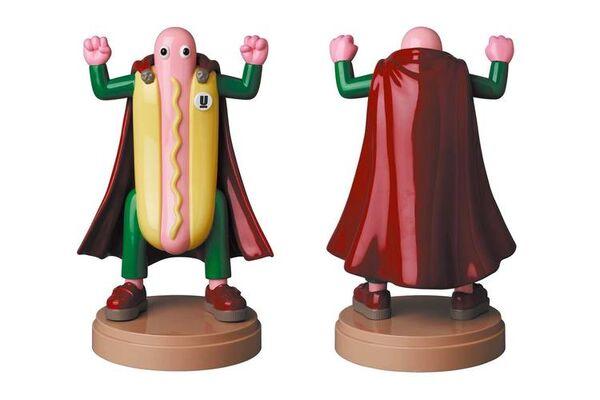 Hot Dog-Shaped Lamps