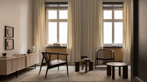 Minimalist Internationally-Designed Furniture
