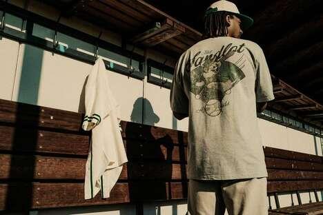 Baseball-Ready Joyful Streetwear