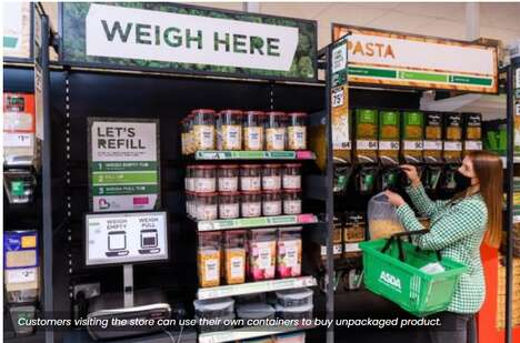 Sustainable Refill Grocery Stores