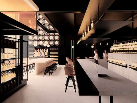 Highly-Immersive Whiskey Bars