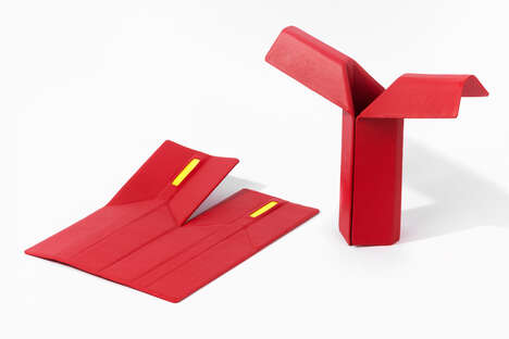 Folding Origami-Inspired Illuminators
