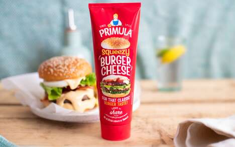 Spreadable Burger Cheeses