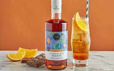 Chocolatey Citrus Gin Liqueurs