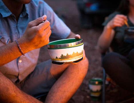 Flatpack Campsite Dinnerware