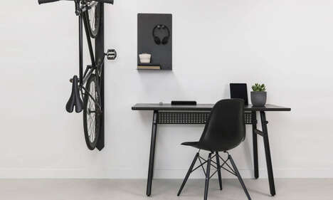 Functional Blacked-Out Home Furnishings