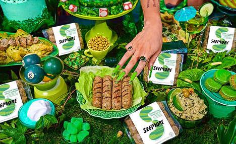 Veggie-Packed Chicken Sausages