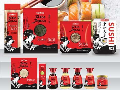Authentic Japanese Cuisine Products