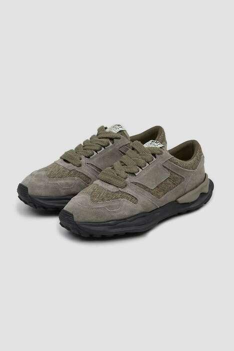 Archival Militaristic Sneaker Models