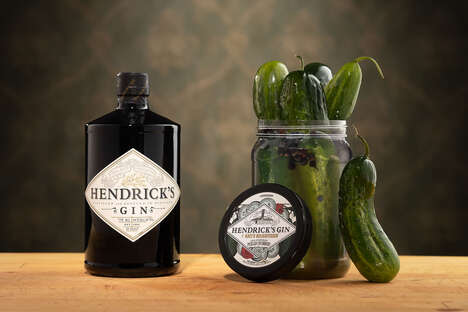 Gin-Inspired Pickles