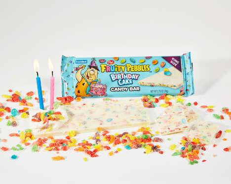 Nostalgic Birthday Cake Bars